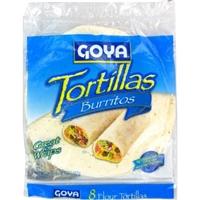 Goya Tortillas Flour, Burritos Food Product Image