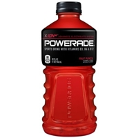 Powerade Ion4 Fruit Punch Food Product Image