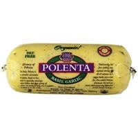 Ancient Harvest Polenta Gluten-Free Basil Garlic Food Product Image