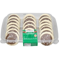 The Bakery at Walmart Brown Frosted Sugar Cookies Food Product Image