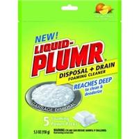 Liquid Plumr Disposal & Drain Foaming Citrus Food Product Image