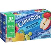 Capri Sun Juice Drink Pouches Splash Cooler - 10 CT Product Image