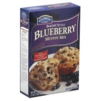 Hill Country Fare Bakery Style Blueberry Muffin Mix Food Product Image