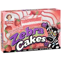 Little Debbie Strawberry Cupcakes Creme-Filled, Pre-Priced. Food Product Image