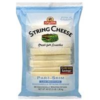 Shoprite String Cheese Mozzarella, Part Skim, Club Size Food Product Image