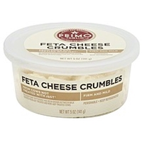 Primo Taglio Cheese Crumbles, Feta Food Product Image