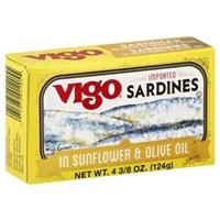 Vigo Sardines in Olive Oil Food Product Image