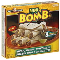 Don Miguel Burritos Green Chile Food Product Image
