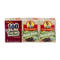 Sun Maid California Organic Raisins - 6 CT Food Product Image