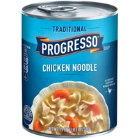 Progresso Traditional Chicken Noodle Soup Food Product Image