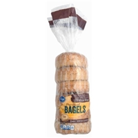 Kroger Whole Wheat Bagels Food Product Image