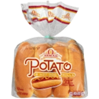 Kinnikinnick Gluten Free Hotdog Buns - 4 Ct Food Product Image