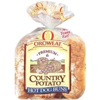 Oroweat Potato Hotdog Buns Food Product Image