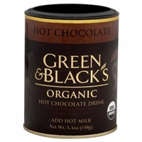 Green & Black's Organic Hot Chocolate Drink Food Product Image