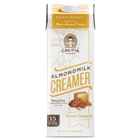 Califia Farms Pecan Caramel Almond Milk Coffee Creamer Food Product Image