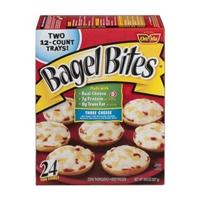 Bagel Bites Mini Bagels Three Cheese - 24 CT Food Product Image