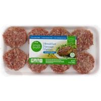 Simple Truth Breakfast Sausage Patties Food Product Image