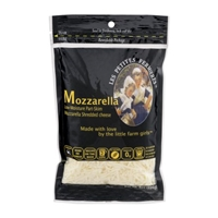 Les Petites Fermieres Mozzarella Shredded Cheese Food Product Image