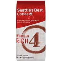 Seattle's Best Level 4 Medium-Dark Ground Coffee Food Product Image