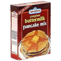 Springfield Buttermilk Pancake Mix Complete Buttermilk Pancake Mix Food Product Image