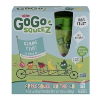 Materne GoGo Squeez Applesauce On The Go - 4 CT Food Product Image