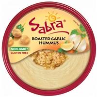 Sabra Hummus Roasted Garlic Food Product Image