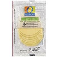 O Organics Cheese Sliced, Provolone Food Product Image