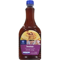 Kroger Butter Pancake Syrup Food Product Image