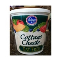 Kroger Fat Free Small Curd Cottage Cheese Food Product Image