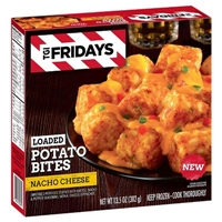 TGI Fridays Loaded Tater Tots Nacho Cheese Food Product Image