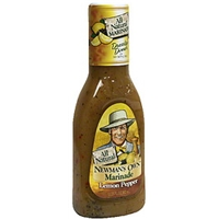 Newman's Own Lemon Pepper Marinade Food Product Image