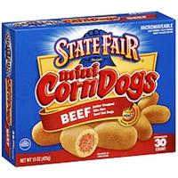 State Fair Corn Dogs Beef Mini Food Product Image