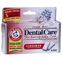 Arm & Hammer Baking Soda Gum Sugar Free, Cinnamon Food Product Image