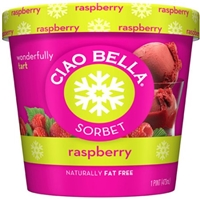 Ciao Bella Sorbet Raspberry Food Product Image