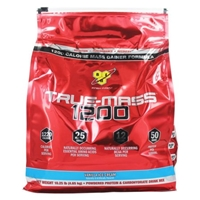 BSN - True-Mass 1200 Ultra-Premium Super Mass Gainer Vanilla Ice Cream - 10.25 lbs. Food Product Image
