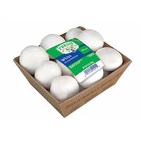 Mushrooms - Whole White - Fresh Selections Food Product Image