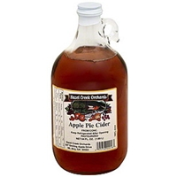 Hazel Creek Orchards 100% Juice Apple Pie Cider Food Product Image