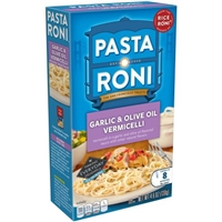 Pasta Roni Garlic & Olive Oil Vermicelli Food Product Image