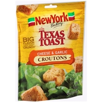 New York Texas Toast Croutons Cheese & Garlic Food Product Image