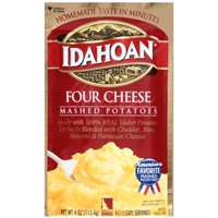 Idahoan Mashed Potatoes Four Cheese Food Product Image