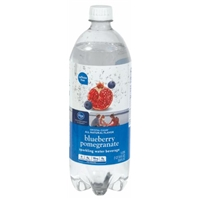 Kroger Blueberry Pomegranate Sparkling Water Food Product Image