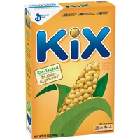 General Mills Kix Crispy Corn Puffs Food Product Image