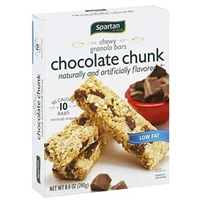 Spartan Granola Bars Chewy, Chocolate Chunk Food Product Image