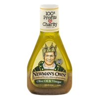 Newman's Own Olive Oil & Vinegar Dressing Food Product Image