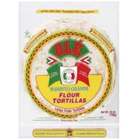 Ole Large Burrito Tortillas Food Product Image