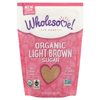 Wholesome! Organic Light Brown Sugar Food Product Image