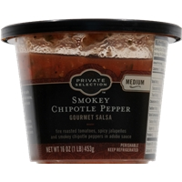 Private Selection Smokey Chipotle Pepper Gourmet Salsa - Medium Food Product Image
