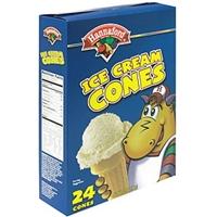 Hannaford Ice Cream Cones Food Product Image