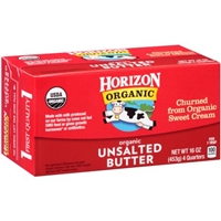 Horizon Organic Unsalted Butter - 4 CT Food Product Image