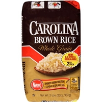 Carolina Rice Brown Rice Whole Grain Food Product Image